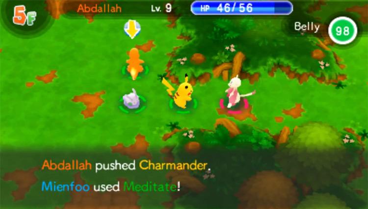Pokémon Super Mystery Dungeon gameplay
