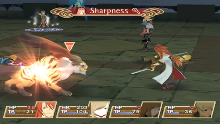 Tales of the Abyss 3DS gameplay