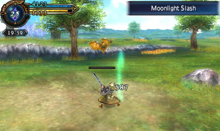Final Fantasy Explorers game screenshot