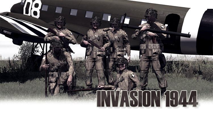 Invasion 1944 Arma 2 mod
