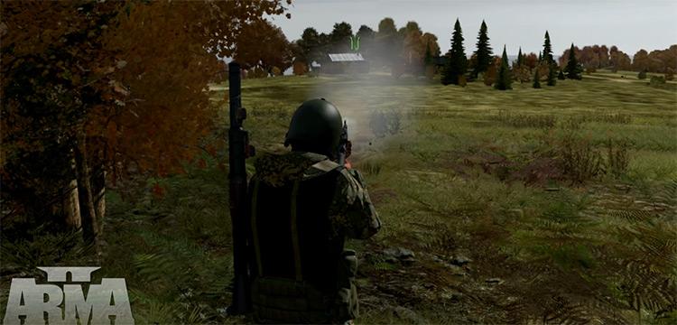 J.S.R.S. Arma 2 mod screenshot