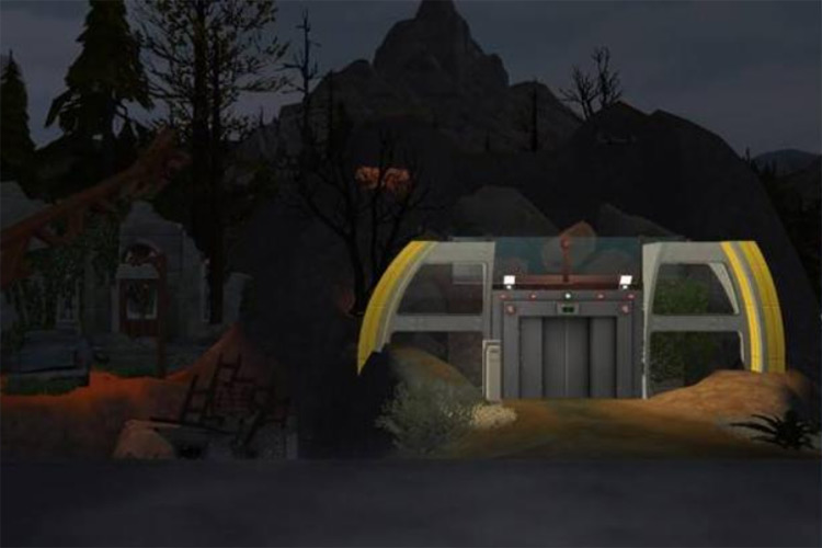 Fallout 4 Mystery Bunker Sims 4 CC