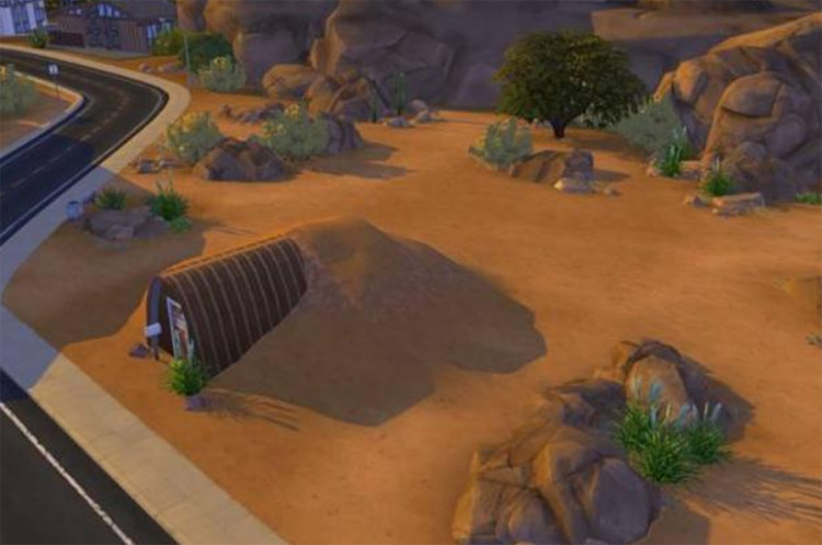 Fallout Shelter for Sims 4