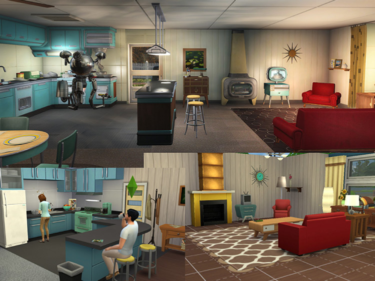 The Home of Tomorrow Sims 4 CC