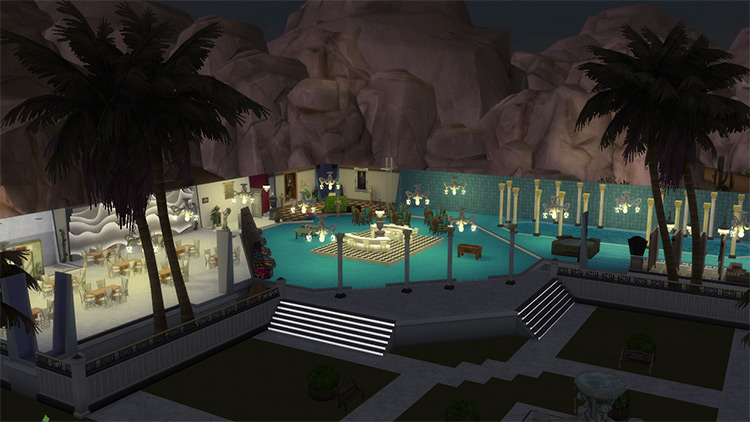 The Ultra-Luxe for Sims 4