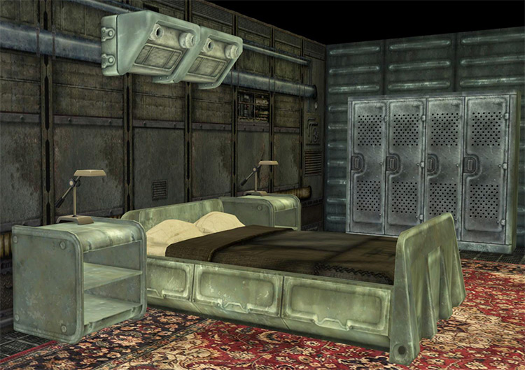 Fallout 3 Vault Bedroom The Sims 4 CC