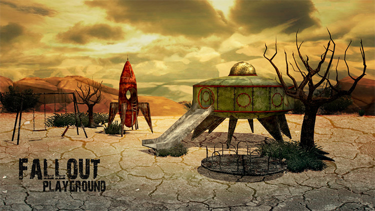 Fallout Playground Conversion for Sims 4