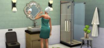 Sims 4 Dream Shower CC - Screenshot