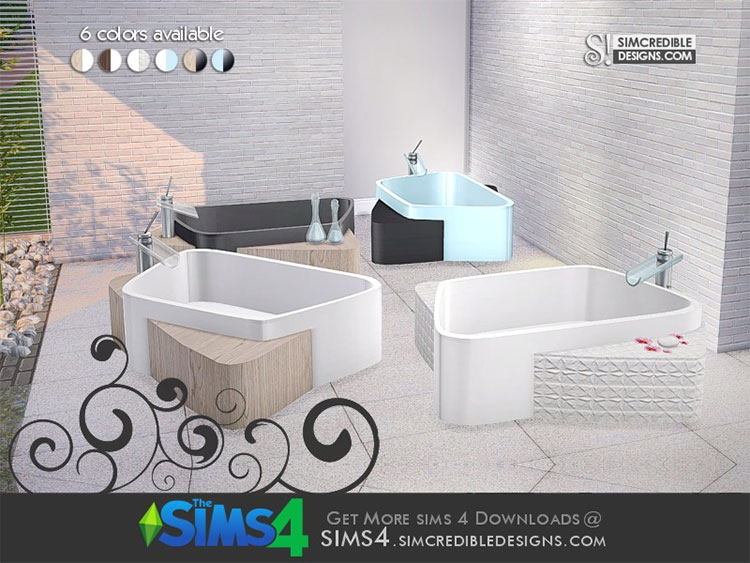 Onda Tub CC for The Sims 4