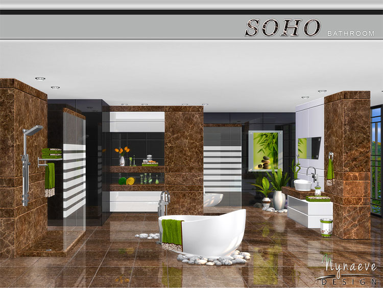 Soho Bathroom CC - TS4 Tub & Shower