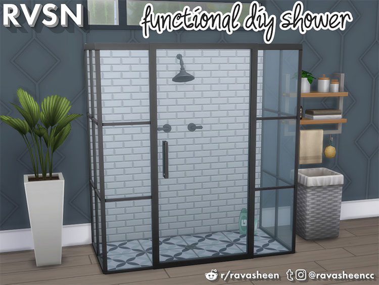 Keep it Clean DIY Shower CC - TS4