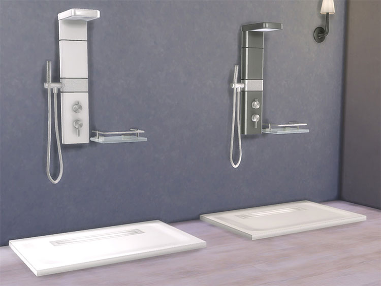 Bathroom Zing CC Set w/ Shower - TS4