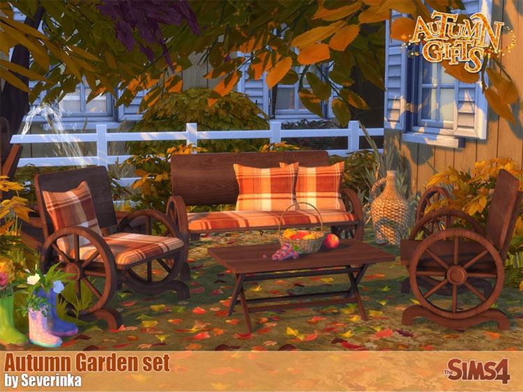 Autumn Garden Set - TS4 CC