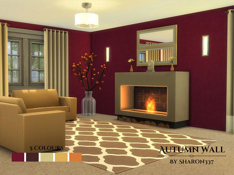Autumn Walls and Floors - TS4 CC