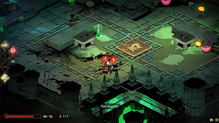 Hades gameplay screenshot