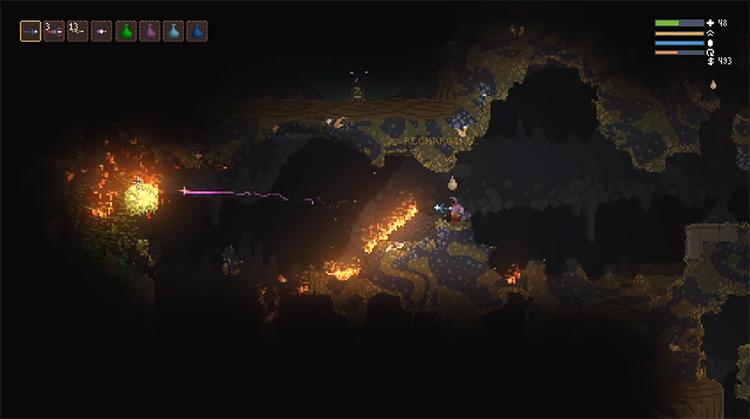 Noita gameplay