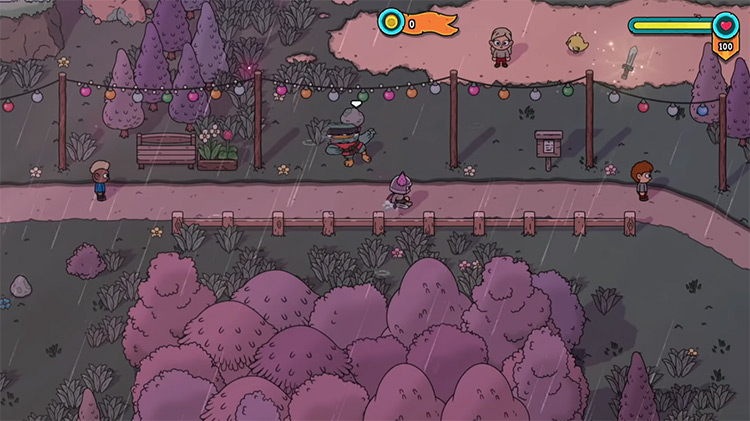 The Swords of Ditto: Mormo's Curse gameplay Switch