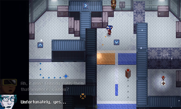CrossCode gameplay screenshot