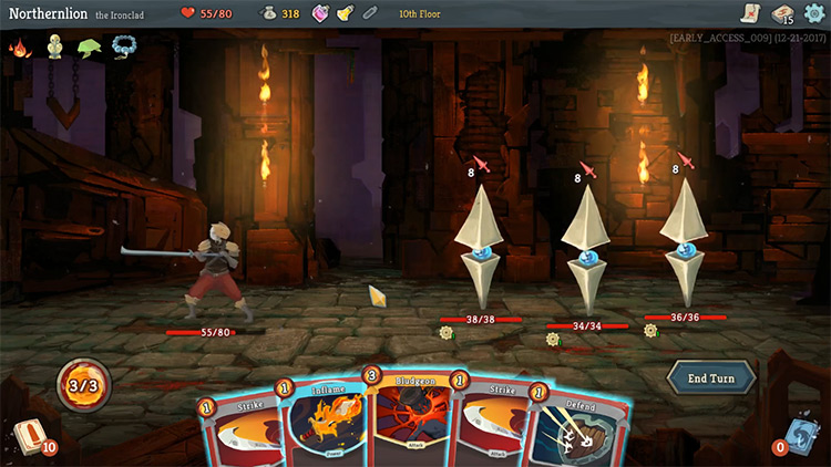 Slay the Spire gameplay screenshot