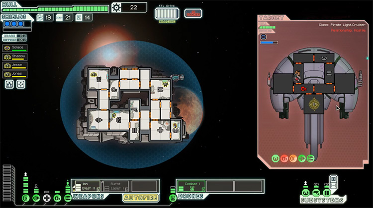 FTL: Faster Than Light gameplay screenshot