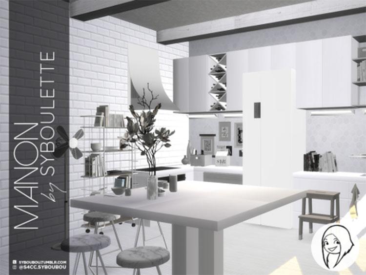 Manon Kitchen Set CC for The Sims 4