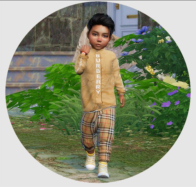 Designer Set for Toddler Boys - TS4 Clothes