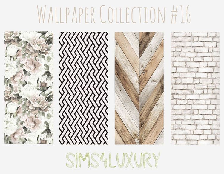 Wallpaper collection for luxury - TS4
