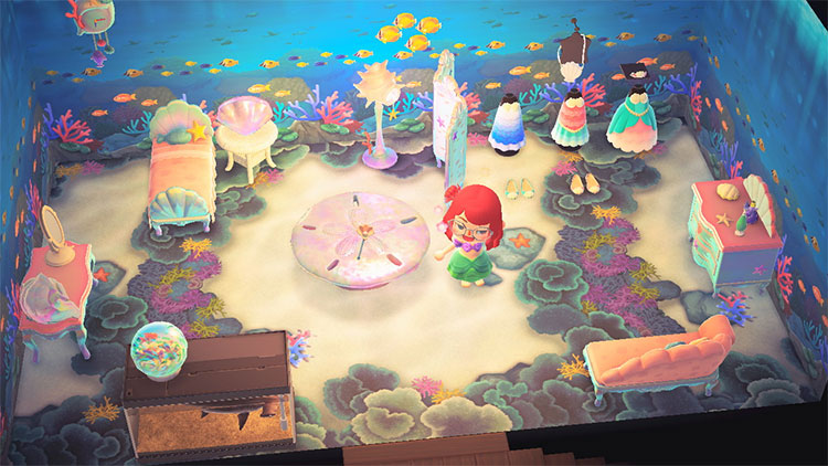 Mermaid Bedroom Design Idea - ACNH