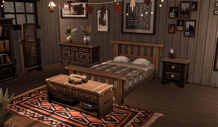 Boho Chic Bedroom Design - ACNH