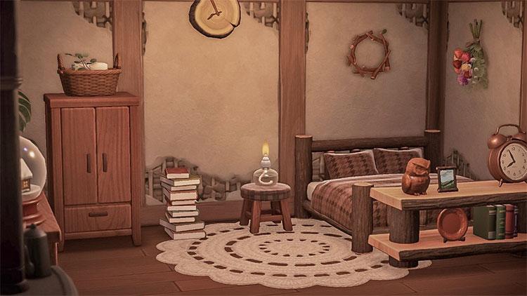 Cottagecore Bedroom Design Idea - ACNH