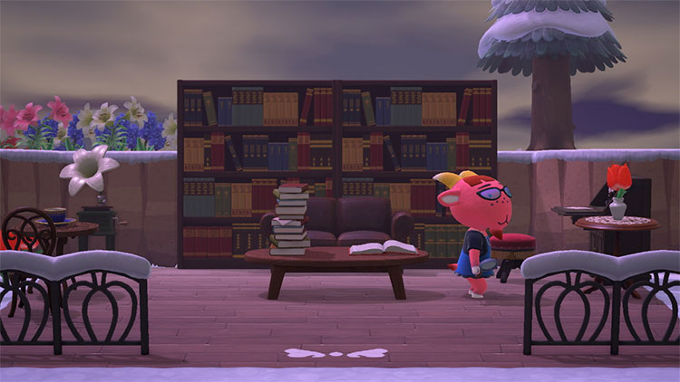 Library Nook for Animal Crossing: New Horizons