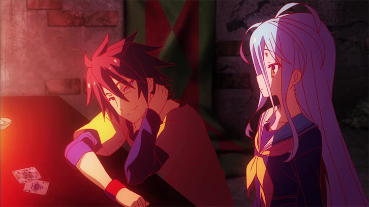 No Game No Life anime screenshot