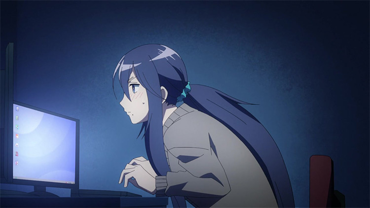 Recovery of an MMO Junkie anime