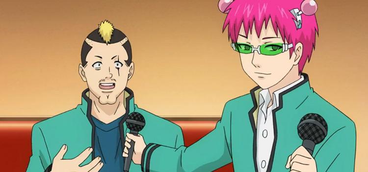 Saiki K Smiling - Anime Screenshot