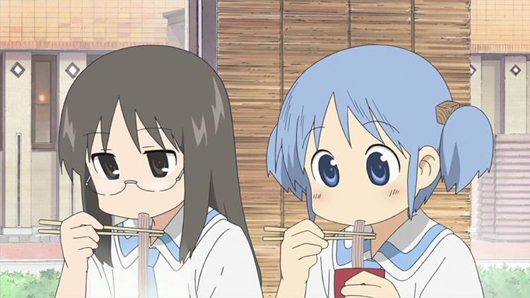 Nichijou anime screenshot