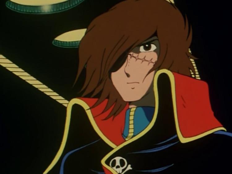Phantom Harlock in Space Pirate Captain Harlock