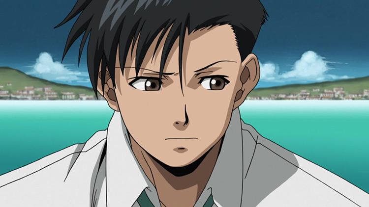 Rokurou Okajima from Black Lagoon