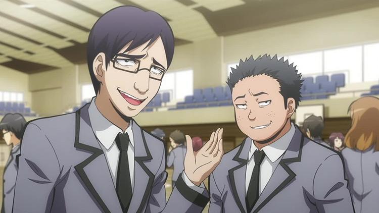 Chosuke Takada and Nobuta Tanaka from Assassination Classroom