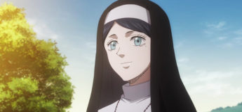 Sister Lily Nun in Black Clover Anime