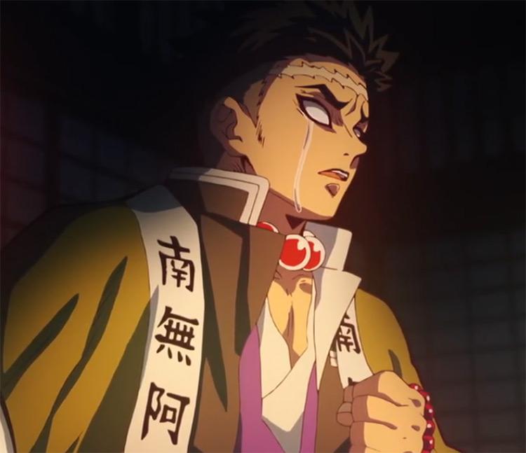Gyomei Himejima from Demon Slayer anime