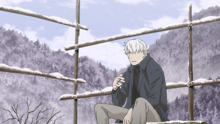 Ginko from Mushishi anime