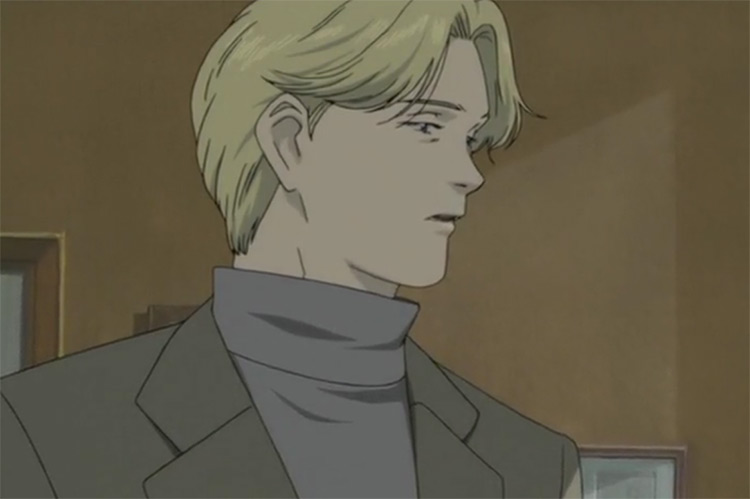 Johan Liebert in Monster anime