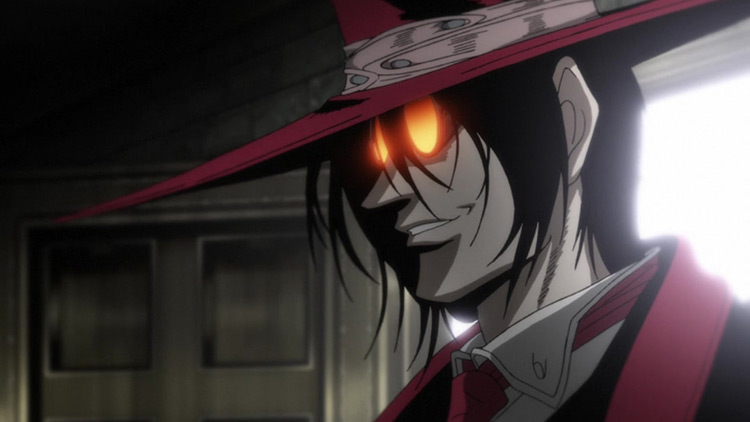 Alucard from Hellsing Ultimate anime