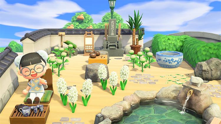 Bamboo Go Lounge - ACNH Idea