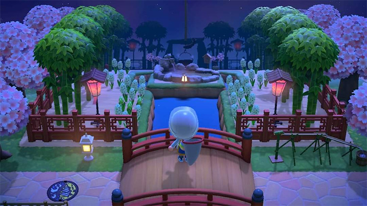 Imperial Bamboo Garden Design for ACNH