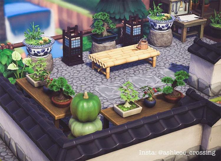 Bonsai Garden for ACNH