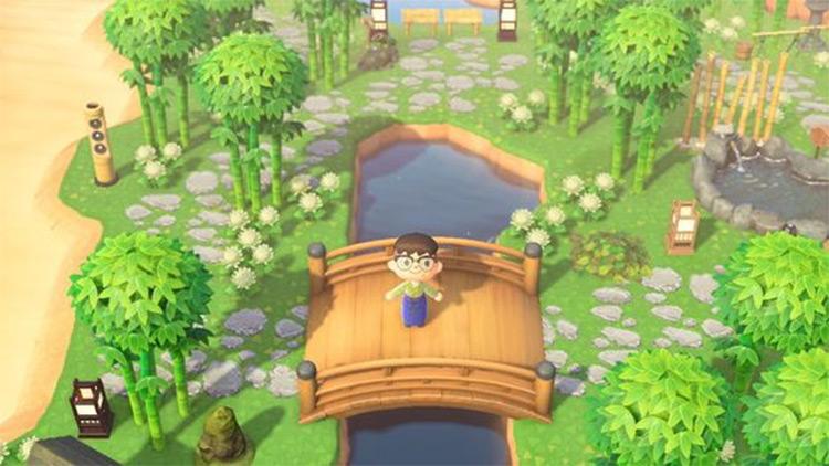 Bamboo Garden Idea for ACNH