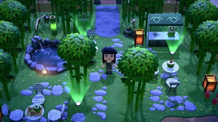 Bamboo Garden Cafe - ACNH Idea
