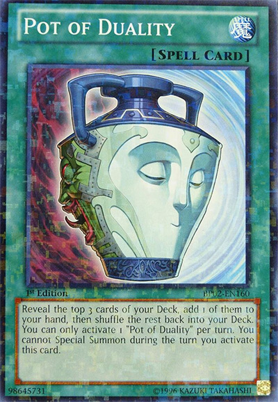 Pot Of Duality YGO Card