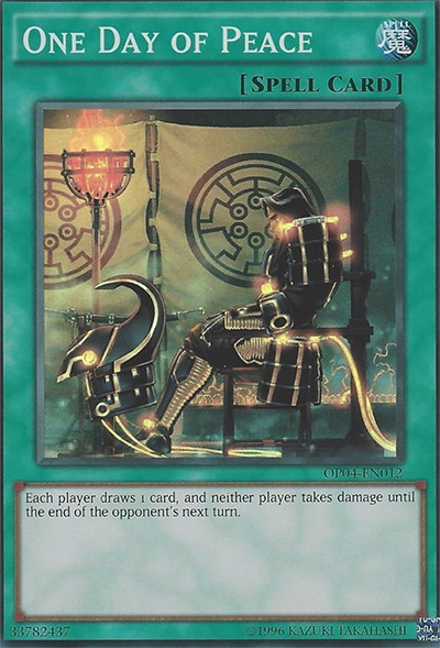 One Day Of Peace Yu-Gi-Oh Card